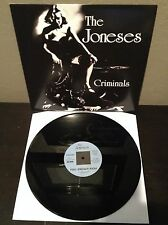 The Joneses - Criminals EP vinyl record NM reissue GLAM PUNK ROCK