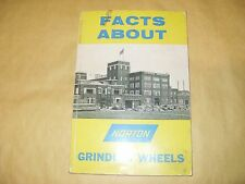 Booklet: Facts About Norton Grinding Wheels - As Photo