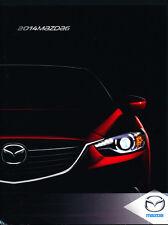 2014 Mazda 6 Mazda6 36-page Original Sales Brochure Catalog