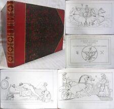 Œuvres de FLAXMAN – l'Iliade & l'Odyssée d'Homère / Édition Réveil 1833 & 1835