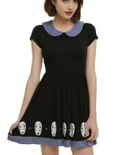 Studio Ghibli Spirited Away No Face Border Cosplay Dress Size XL NWT!