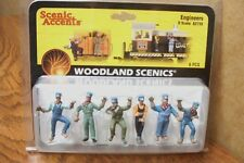 WOODLAND SCENICS ENGINEERS  O SCALE FIGURES