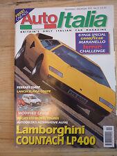 Auto Italia magazine no.17 Lamborghini Countach Fiat Cinquecento Ducati Lancia