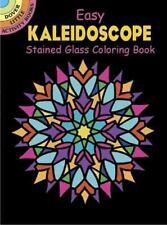 Dover Easy Kaleidoscope Stained Glass Coloring Book (Dover Stained Glass Colorin