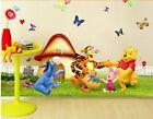 Removable Winnie The Pooh Baby Nursery Room Wall Sticker Decoration Art Decals