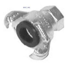 """3/4"""" FEMALE UNIVERSAL CROWSFOOT COUPLING CHICAGO FITTING PLATED IRON SFF075"""