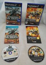 Operation Air Assault 1 & 2 (Sony PlayStation 2 bundle)