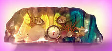 VINTAGE 1960'S LUCITE / ACRYLIC AQUARIUM KITSCH THERMOMETER