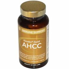 Quality Of Life Labs AHCC 60 Caps-500 mg Immune Support-MSRP $74.95 FREE SHIP