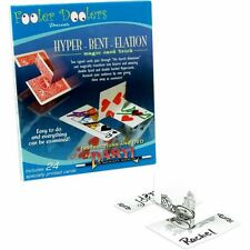 HYPER-BENT-ELATION DVD & BICYCLE CARDS BY DARYL & FOOLER DOOLERS MAGIC TRICKS