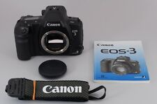 MINT Canon EOS 3 Body 35mm SLR Film Camera with Strap Manual Vintage from Japan