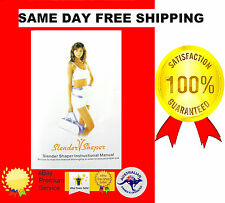 INSTRUCTION MANUAL SLENDER V SHAPER MASSAGE, FITNESS, EXERCISE, SLIMMING BELT