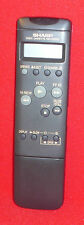 ORIGINAL GENUINE SHARP VIDEO CASSETTE RECORDER REMOTE CONTROL G0857GE