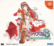 Sakura Wars 3   Sega Saturn Import   Near Mint/ Near Mint