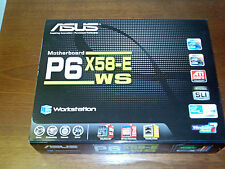 ASUS P6X58-E WS (includes I7-920 and 6GB OCZ DDR3 memory)