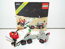 LEGO SPACE No 6870 SPACE PROBE LAUNCHER 100% COMPLETE + INSTRUCTIONS 1980s