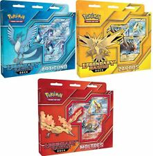 Set of 3 SEALED Pokemon Legendary Battle Decks, Articuno, Moltres and Zapdos EX!