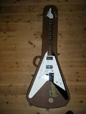 GIBSON 1991 Issue FLYING V BLACK&WHITE Michael Schenker  OHC Ship from JAPAN