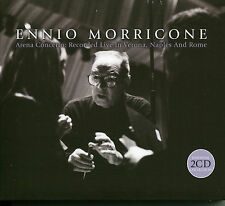 ENNIO MORRICONE ARENA CONCERTO; LIVE IN VERONA, NAPLES & ROME 2 CD BOX SET
