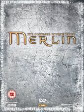 Merlin - Complete BBC Series 4 [DVD] Colin Morgan, Bradley James New and Sealed