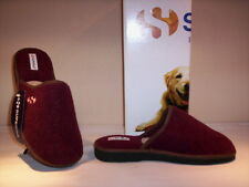 slippers Superga man slippers men closed winter from home bordeaux 40
