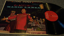 """Mario Lanza """"The Student Prince"""" RCA LIVING STEREO RED SEAL LP ROMBERG"""