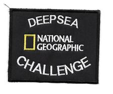 Patch, toppa, DEEPSEA CHALLENGE NATIONAL GEOGRAPHIC - VELCRO