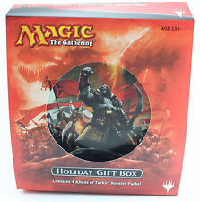 MAGIC THE GATHERING KHANS OF TARKIR BOOSTER 2014 HOLIDAY GIFT BOX ENGLISH SEALED
