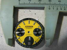 CITIZEN 8110 Chronograph Yellow Dial Automatic New