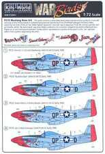 Kits World Decals 1/72 P-51D MUSTANG NOSE ART 334th Fighter Squadron