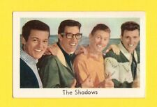 The Shadows Vintage 1970s Pop Rock Music Card Issued in Sweden A