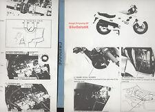 Honda CBR1000F (1987-on) Dealers Factory Shop Manual CBR1000,CBR 1000 F,SC21