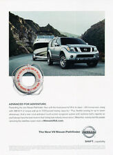 2008 Nissan V8 Pathfinder - boat - Classic Car Advertisement Print Ad J79-26