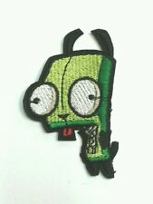 Invader zim Gir in dog costume iron on patch