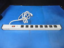 BROOKS 8-OUTLET POWER DISTRIBUTION STRIP W/6' POWER CABLE 15A 125V MN: UL300BC