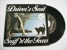 """SNIFF 'N' THE TEARS - DRIVER'S SEAT - 7"""" VINYL HOLLAND 1978"""