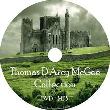 Thomas D'Arcy McGee Ireland History Audio Book Collection on 1 MP3 DVD Free Ship