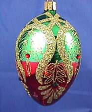 Waterford 2006 Holiday Heirlooms 10th Anniversary Peacock Egg Ornament NIB