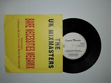 "The UK Mixmasters ‎/ Bare Necessities Megamix -Disco  45 Giri 7"" STAMPA UK 1991"