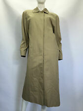 BURBERRY Trench Coat Giubbino Giacca Jacket Cappotto Tg 12 LONG Woman Donna