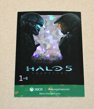 Xbox one exclusive promo Halo 5 Card from Gamescom 2015 (FOIL)