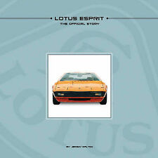 Look REDUCED!!!  LOTUS ESPRIT THE OFFICIAL STORY BOOK jm
