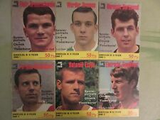 Stars im Stadion 1966 - 18 Hefte komplett ZUM AUSWÄHLEN    Ehapa Micky Maus