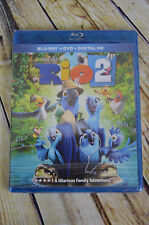 Rio 2 Blu-Ray DVD Digital HD