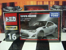 TOMICA PREMIUM #16 TOYOTA 86 GRMM 1/59 SCALE NEW IN BOX