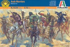 Italeri 1/72 6126 Arab Warriors (Medieval Era)(15 Figures, 12 Horses & 3 Camels)