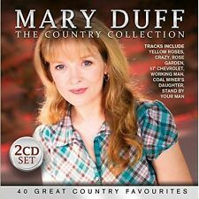 """MARY DUFF """"THE COUNTRY COLLECTION"""" Double Brand New CD"""