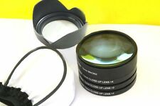 MACRO Close Up Lenses Lens Filter Kit for Canon EF 50mm f/1.2L USM + FREE GIFTS