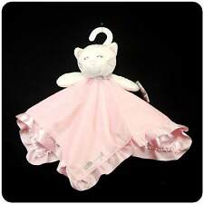New/NWT~Carters~Pink & White~Kitty Cat~Security Blanket~Little Angel~Baby Girls
