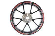 Liserets de jantes Ducati 1098 Rouge Autocollant Moto Sticker